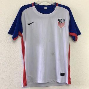 Boys Nike Youth USA🇺🇸 Soccer Jersey size XL